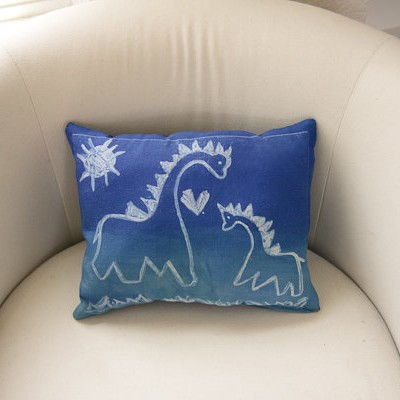 Dry-Erase Doodle Pillow & Inkodye \u203a Projects pillowsntoast.com