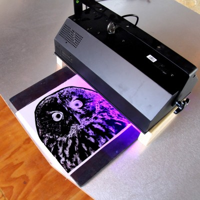 How to Print Inkodye with UV Light