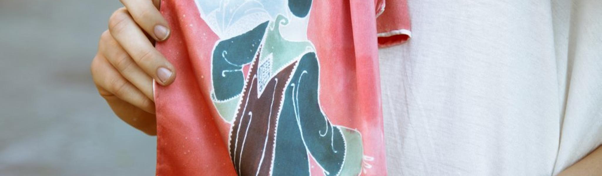 Sun-Printed Batik